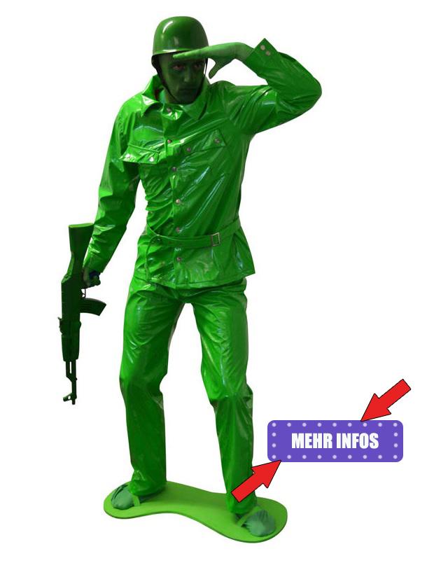 Spielzeug Soldaten Kostüm